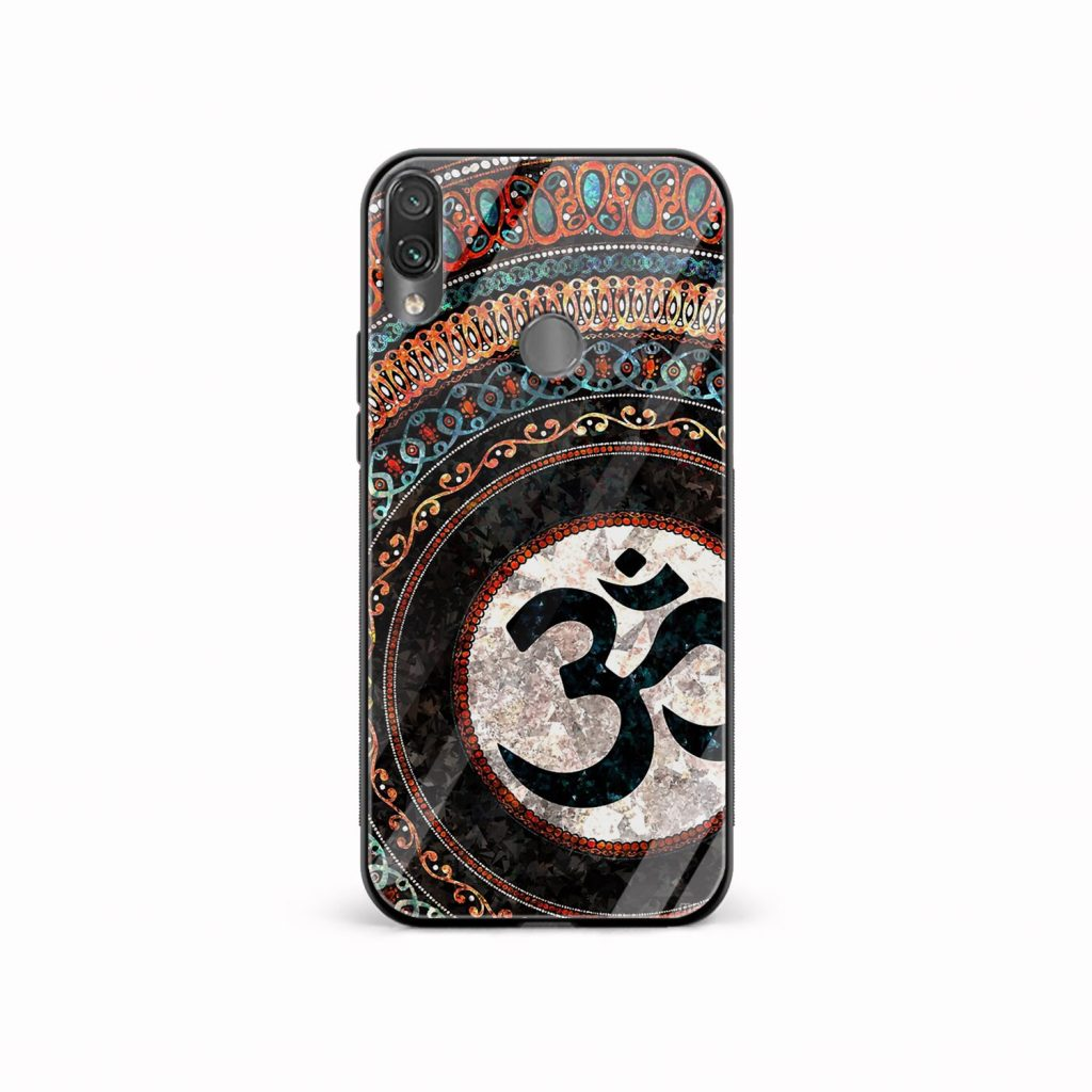 om culture redmi note7 mobile cover front view