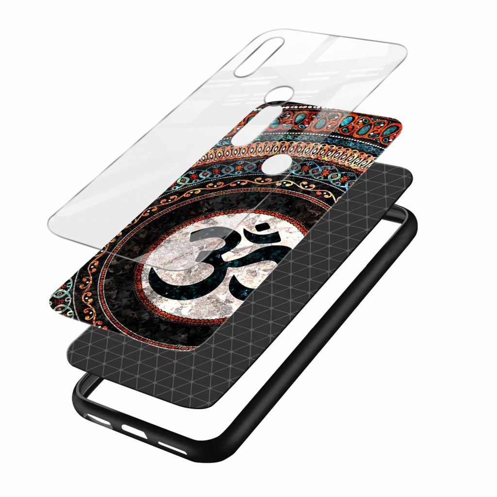 om culture redmi note7 mobile cover layers view