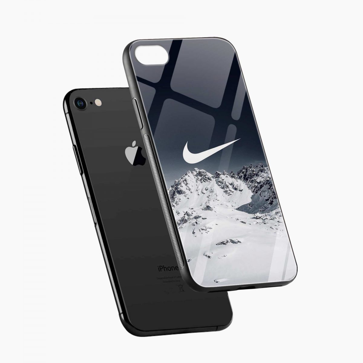 nike mountain view diagonal view apple iphone 6 7 8 se back cover 1