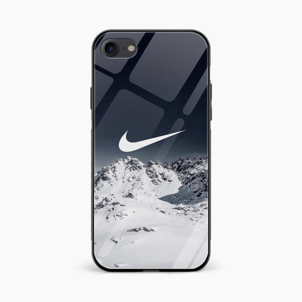 nike mountain view diagonal view apple iphone 6 7 8 se back cover 2