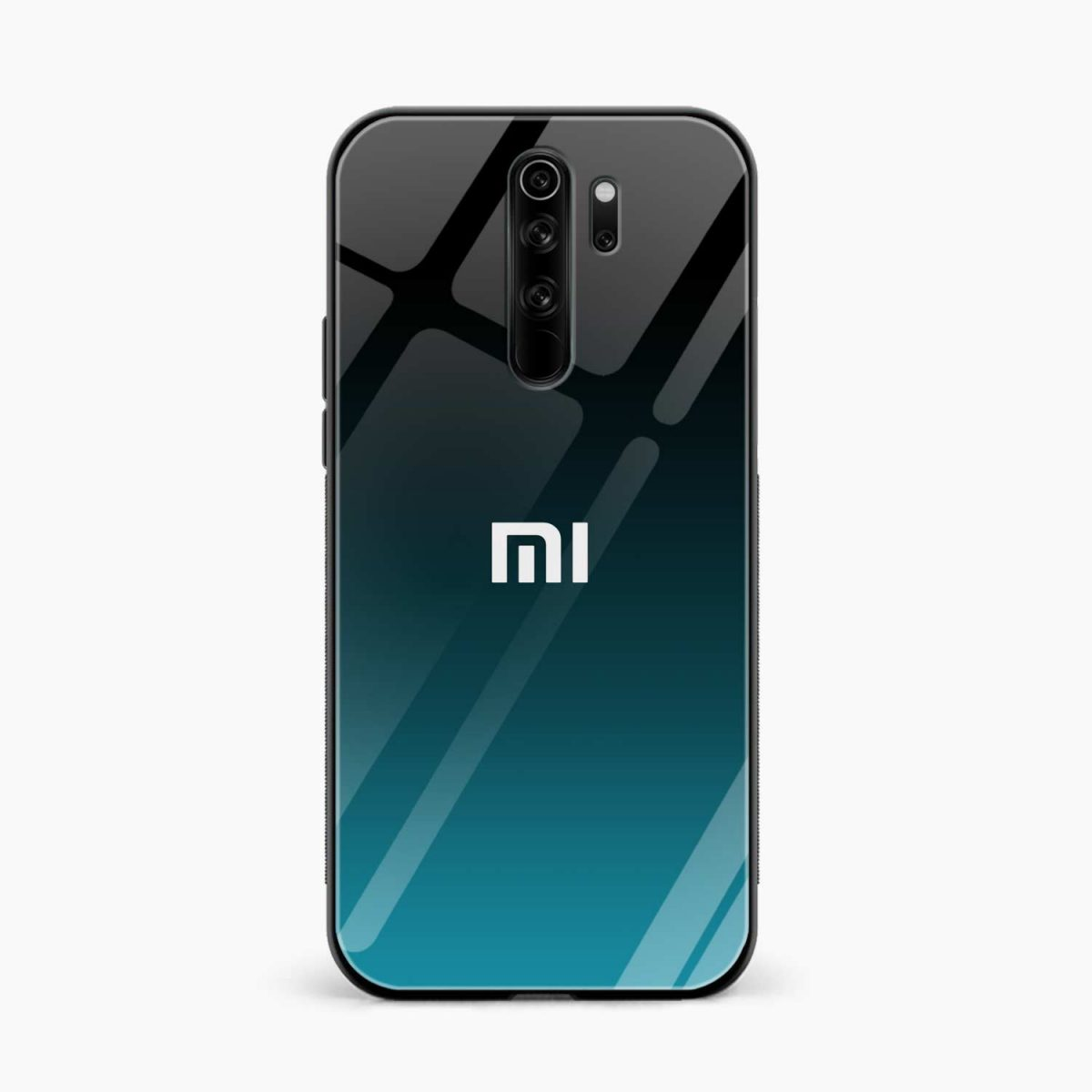 ultramarine glass redmi note 8 pro back cover front view