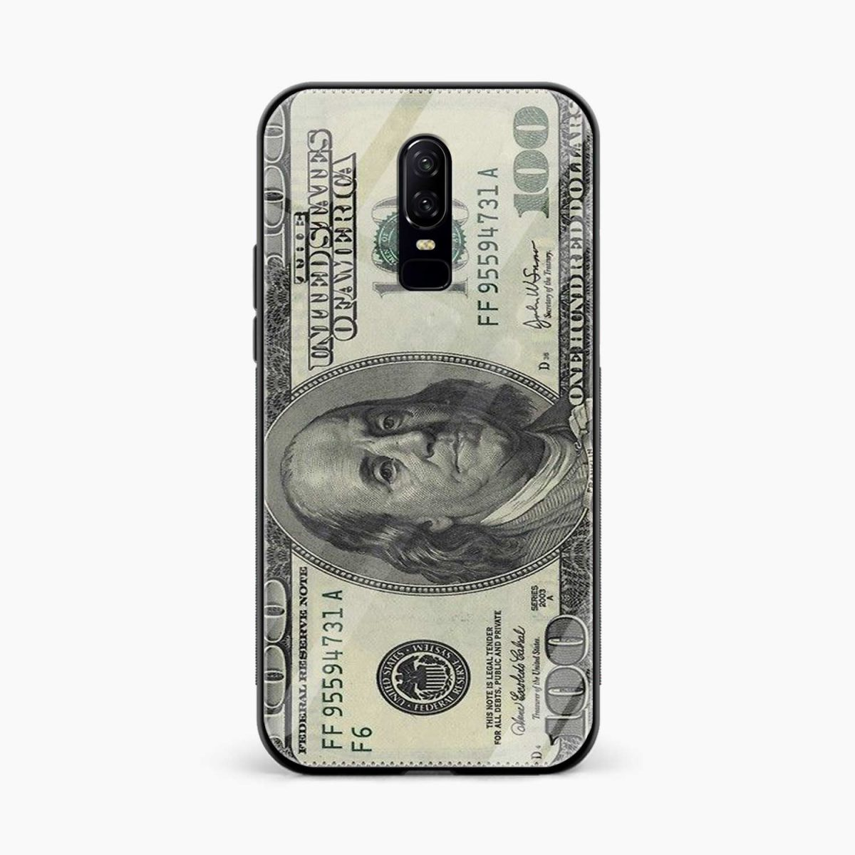 front view oneplus 6 back cover