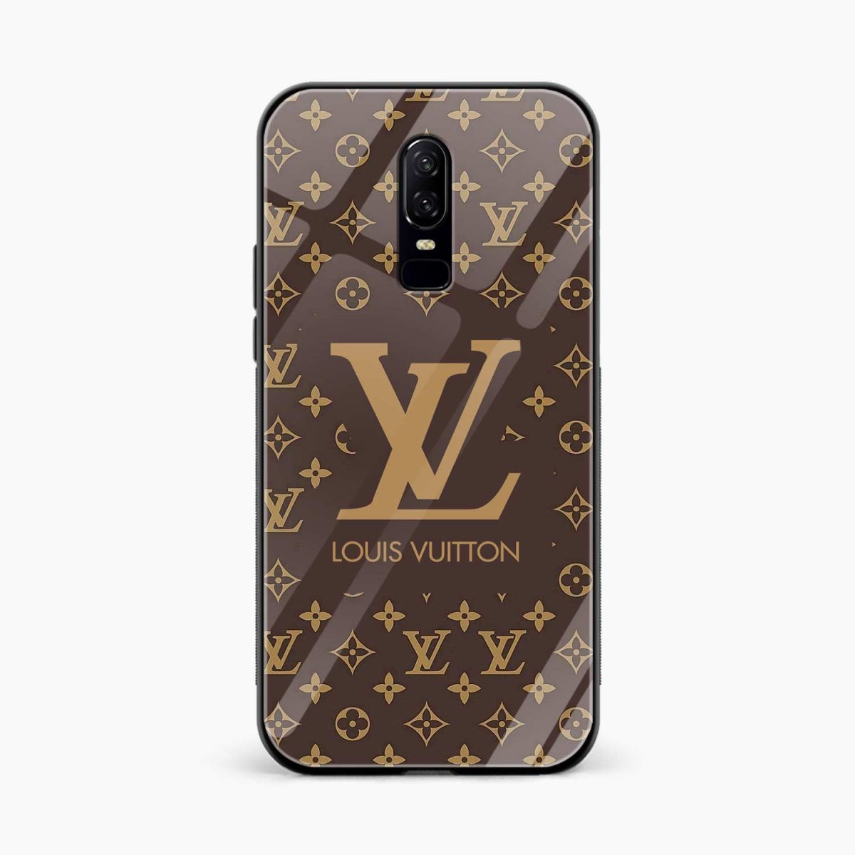 LOUIS VUITTON front view oneplus 6 back cover