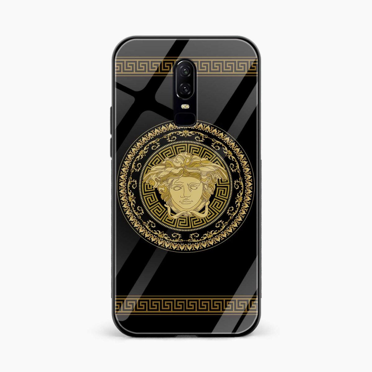 VERSACE front view oneplus 6 back cover