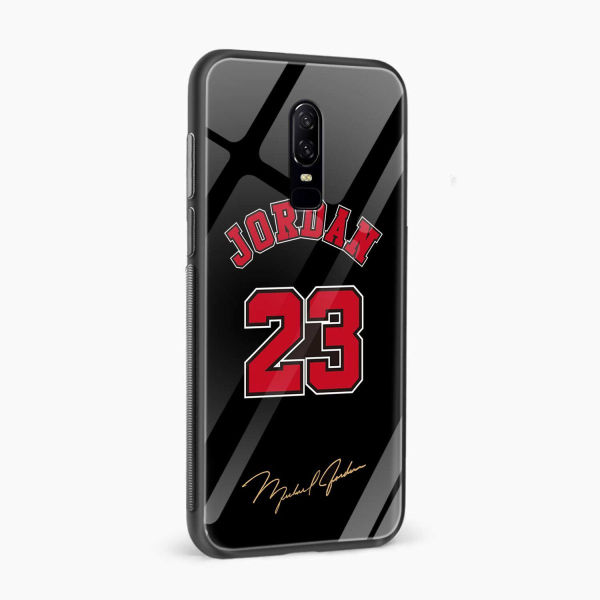 jordan side view oneplus 6 back cover