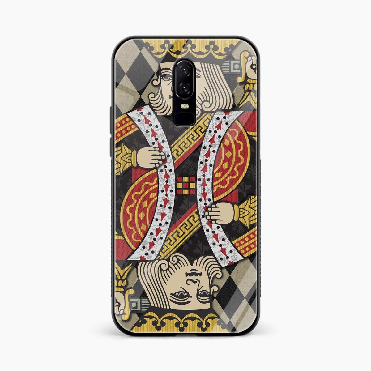 king front view oneplus 6 back cover