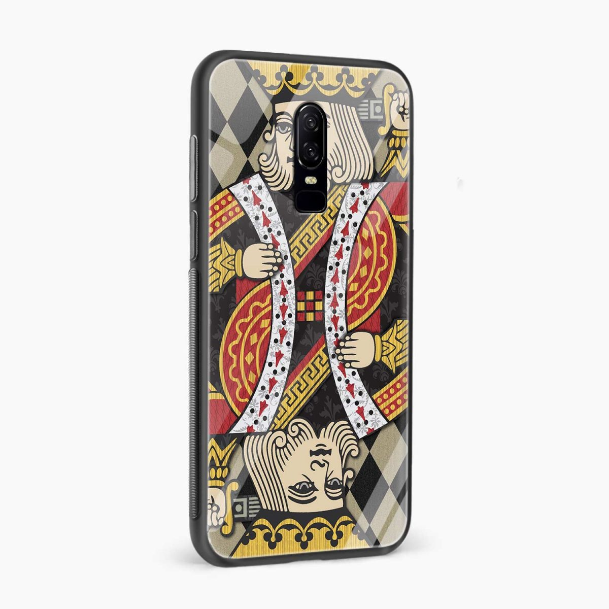 king side view oneplus 6 back cover