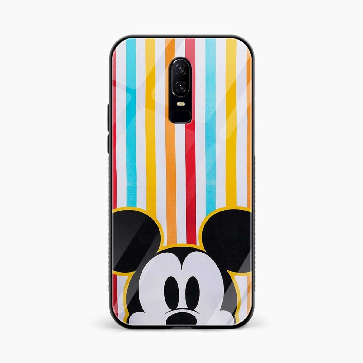 mini mouse front view oneplus 6 back cover