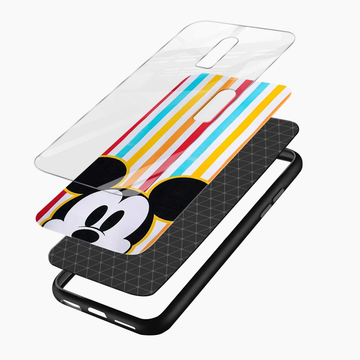mini mouse layers view oneplus 6 back cover