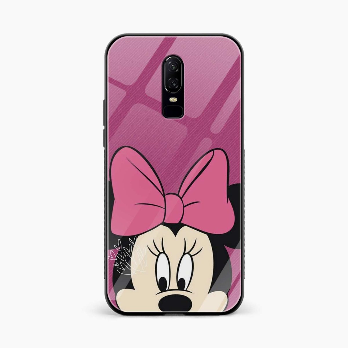 mini mouse front view oneplus 6 back cover 1