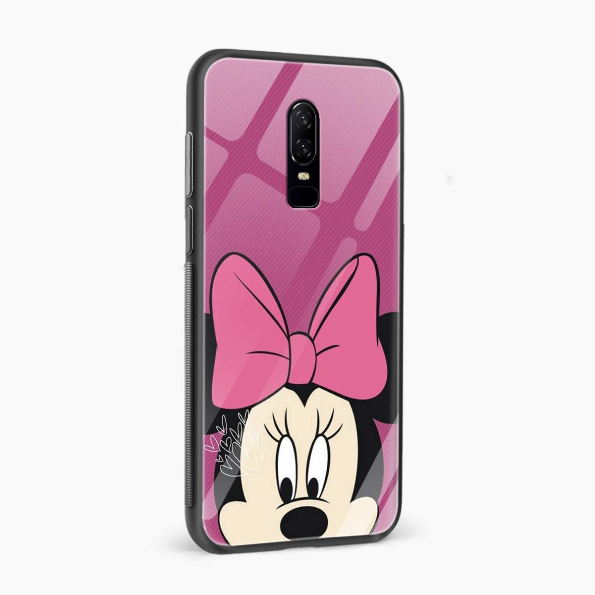 mini mouse side view oneplus 6 back cover 1