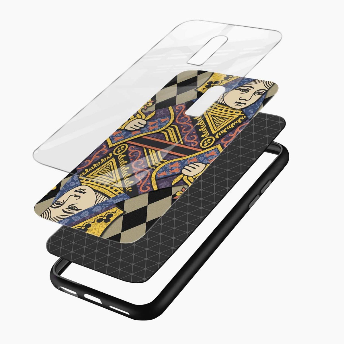Queen layers view oneplus 6 back cover