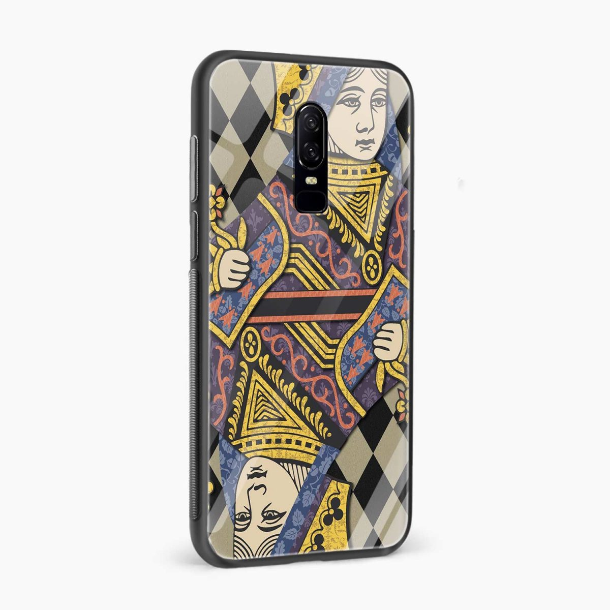 Queen side view oneplus 6 back cover