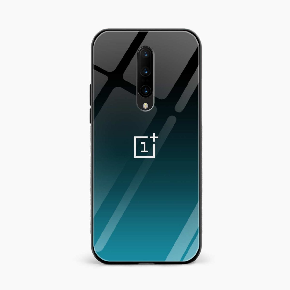 Ultramarine Glass front view oneplus 7 pro back cover