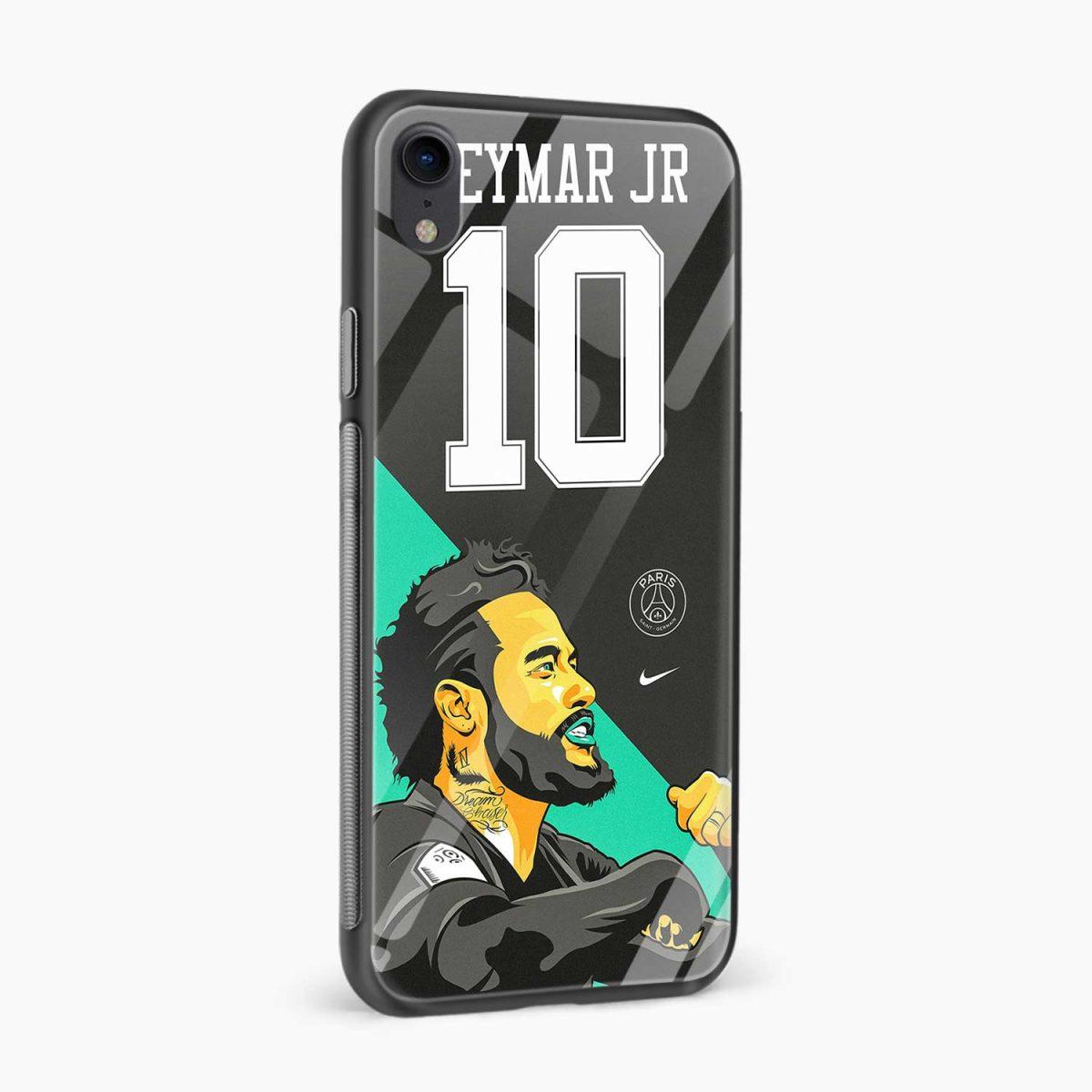 neymar jr 10 apple iphone xr back cover side view