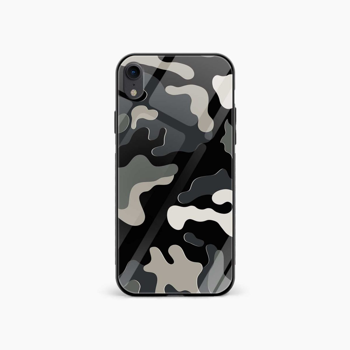comoulfage print apple iphone xr back cover front view