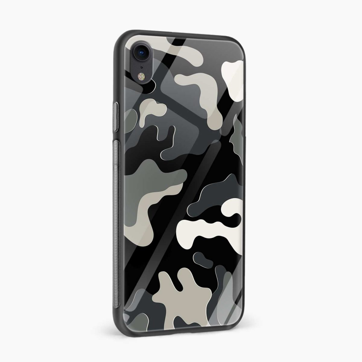 comoulfage print apple iphone xr back cover side view