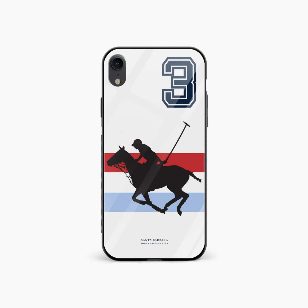 santa barbara polo apple iphone xr back cover front view