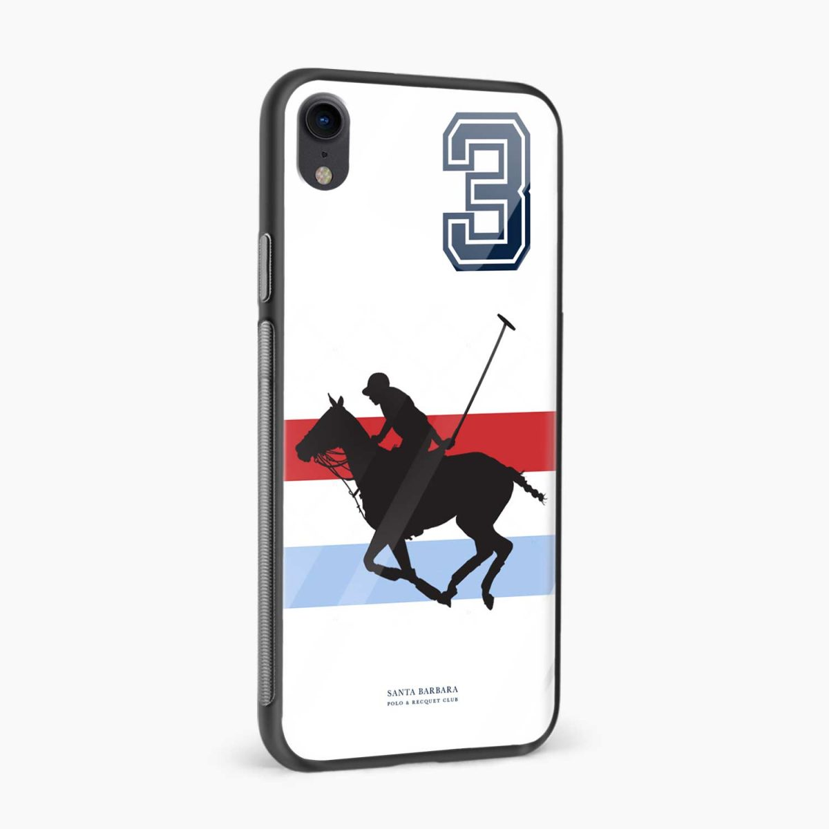 santa barbara polo apple iphone xr back cover side view