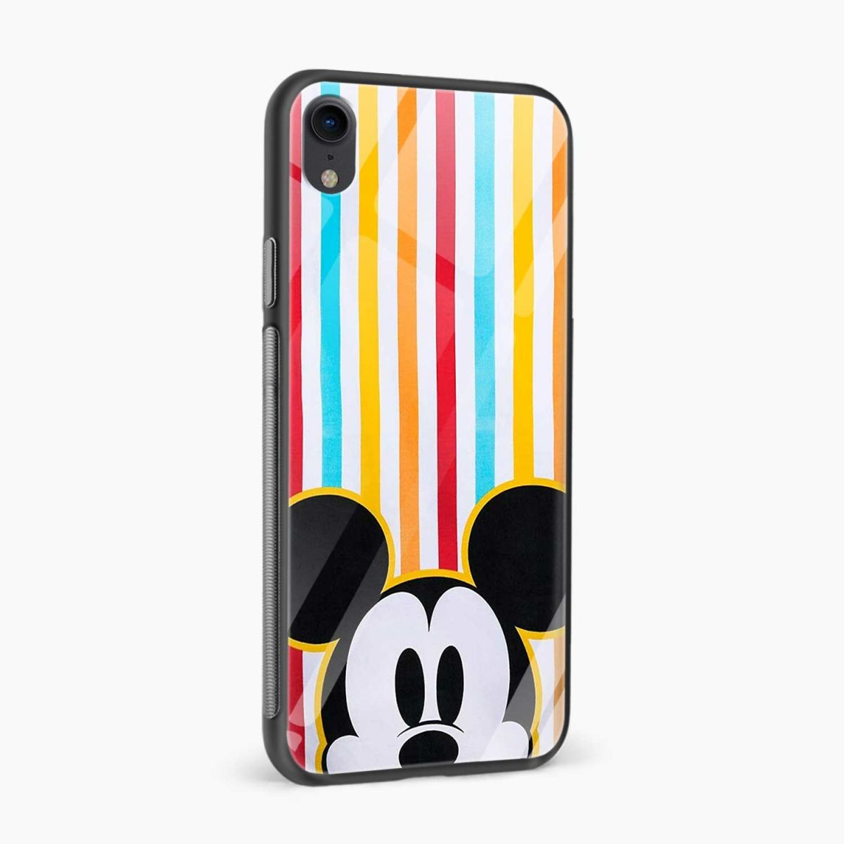 rigid spy mickey mouse apple iphone xr back cover side view