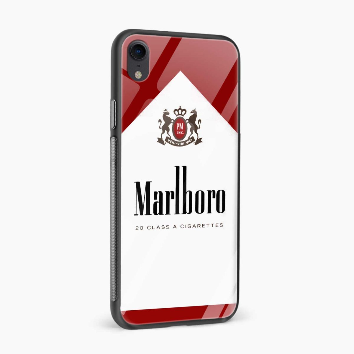 marlboro cigarette box apple iphone xr back cover side view