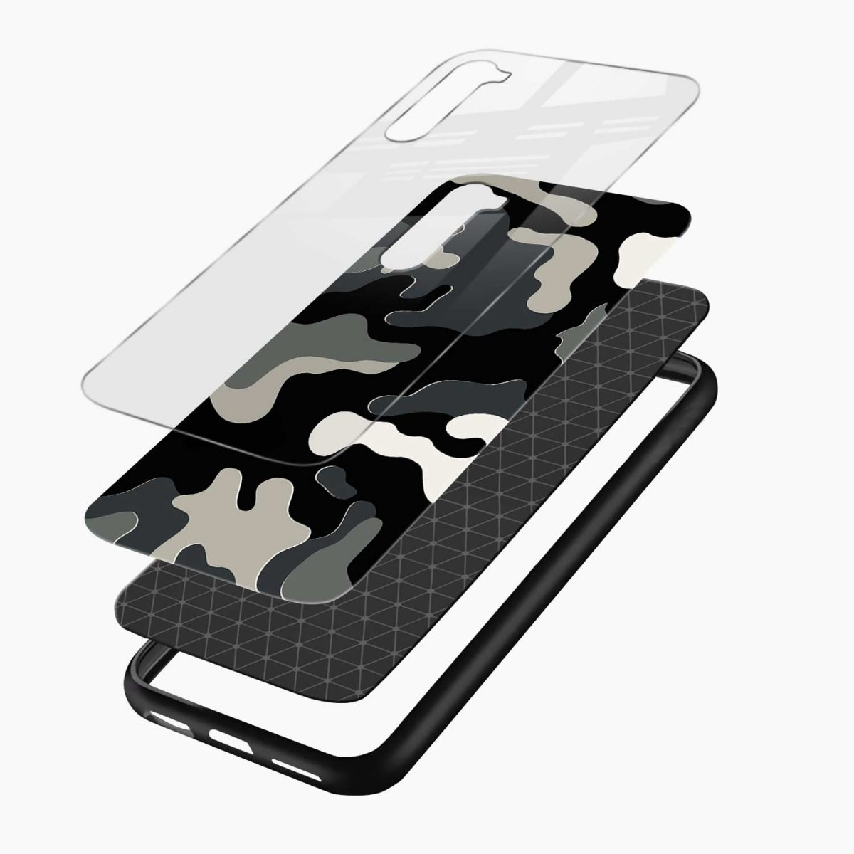 comoulfage pattern layers view oneplus nord back cover