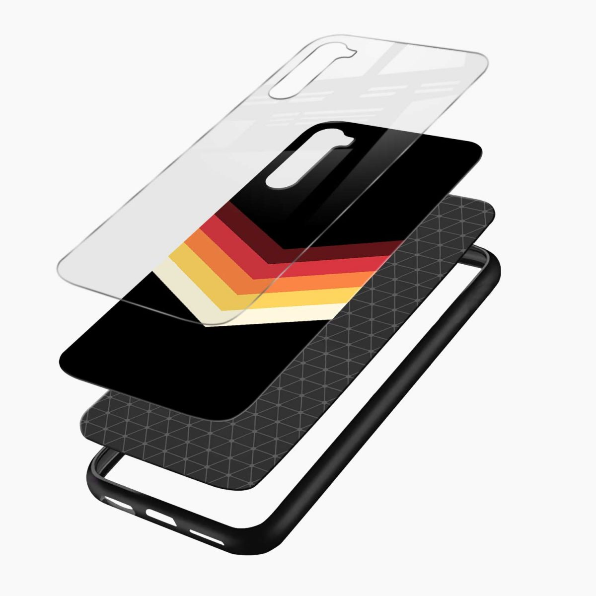 rewind strips pattern layers view oneplus nord back cover