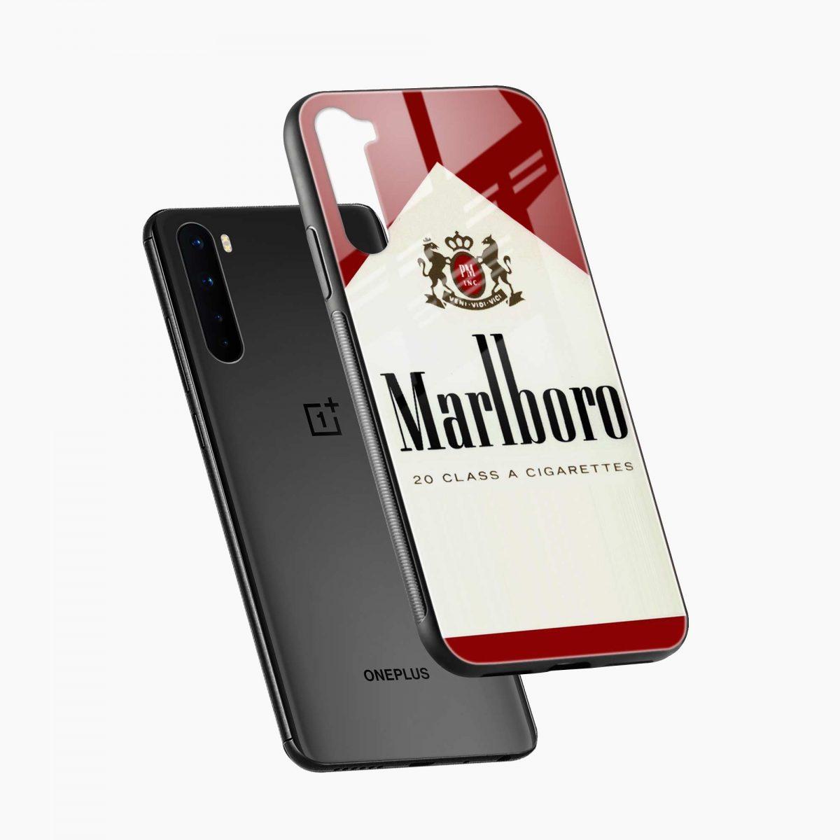 marlboro cigarette box diagonal view oneplus nord back cover
