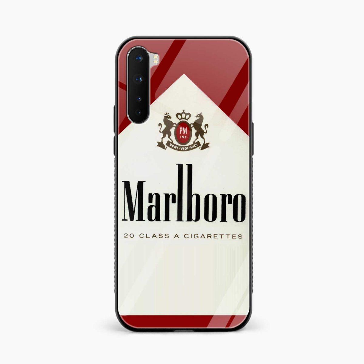 marlboro cigarette box front view oneplus nord back cover