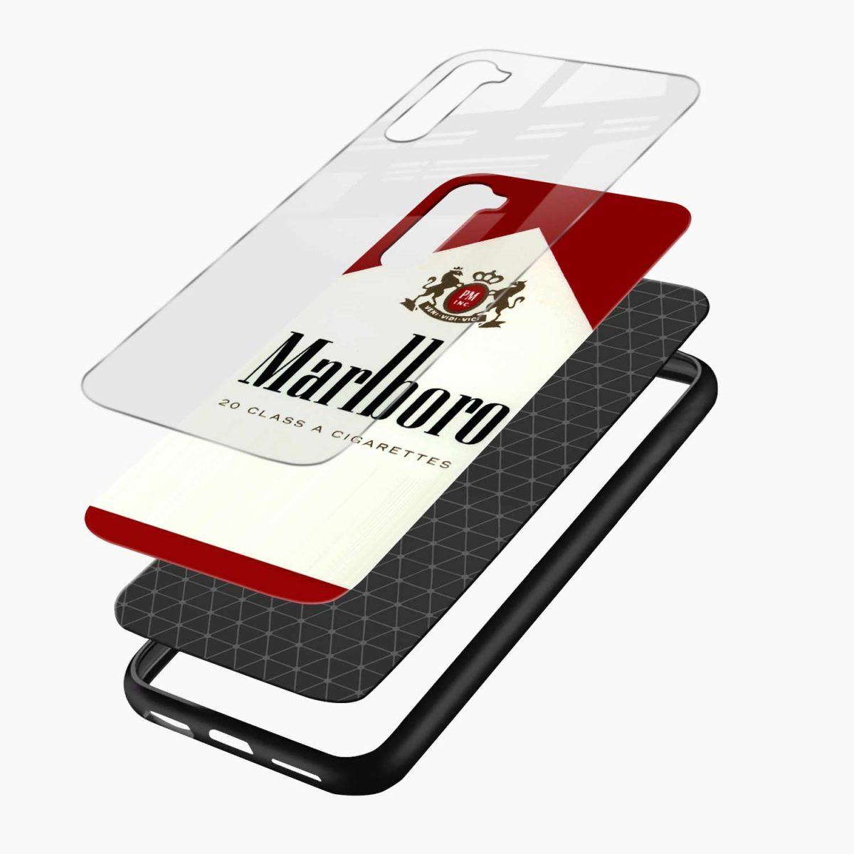 marlboro cigarette box layers view oneplus nord back cover