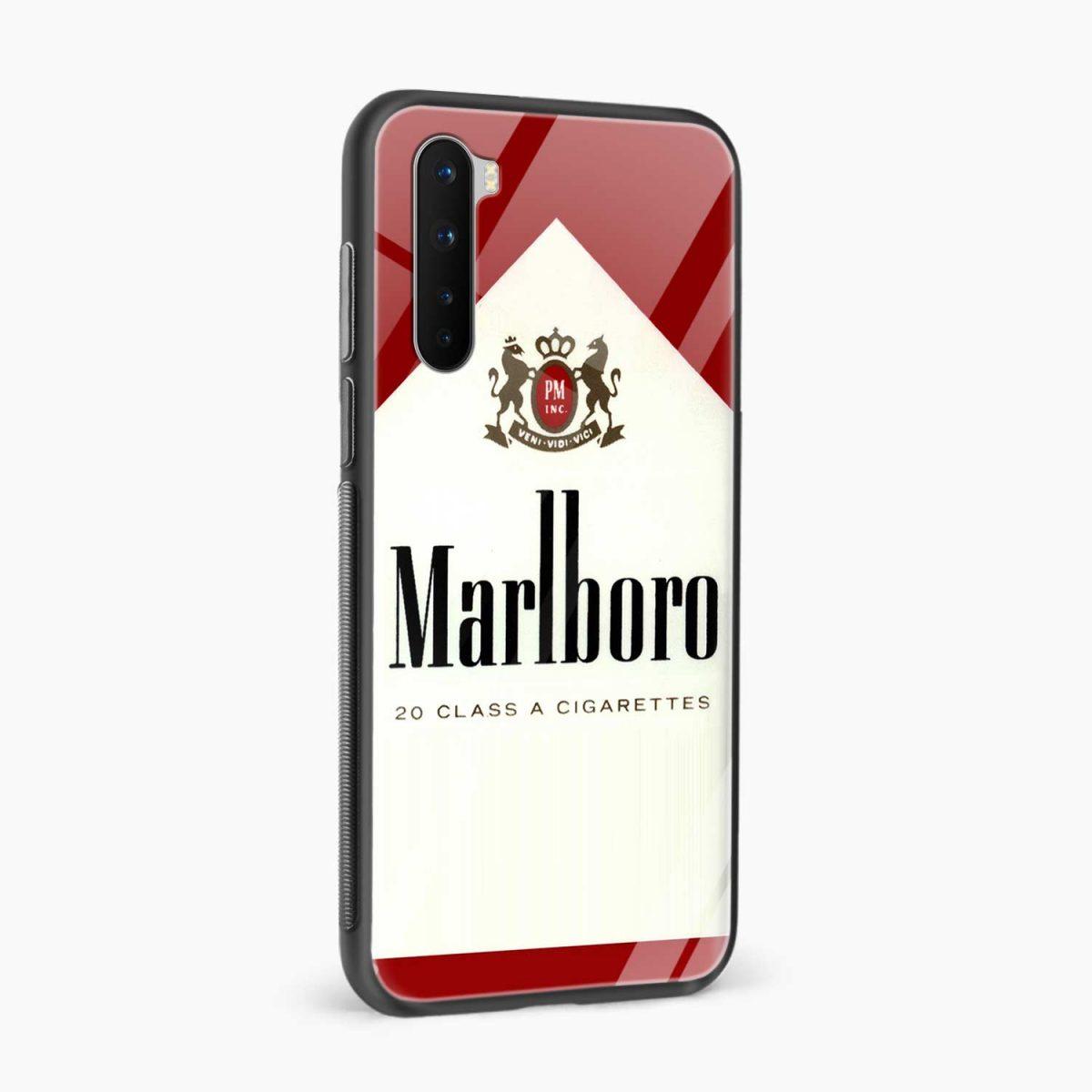 marlboro cigarette box side view oneplus nord back cover