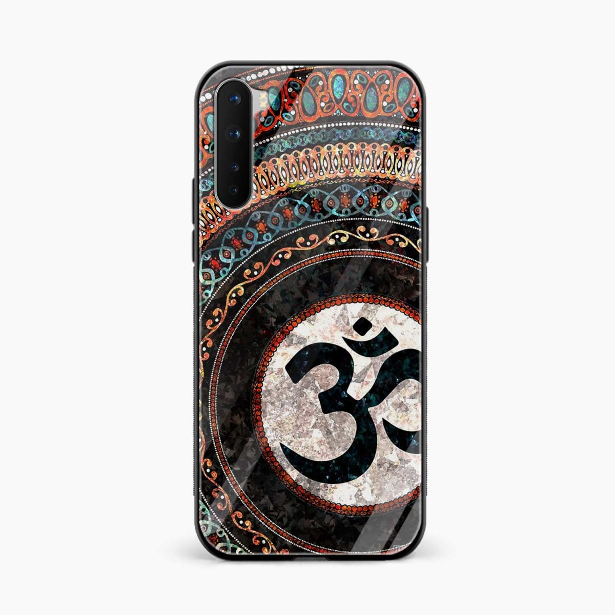 om glass front view oneplus nord back cover