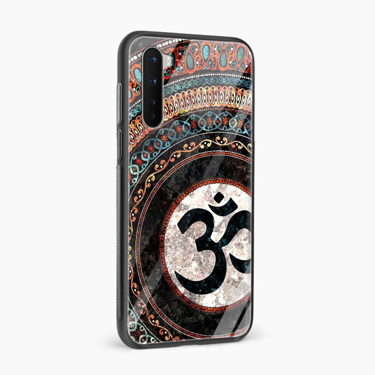 om glass side view oneplus nord back cover