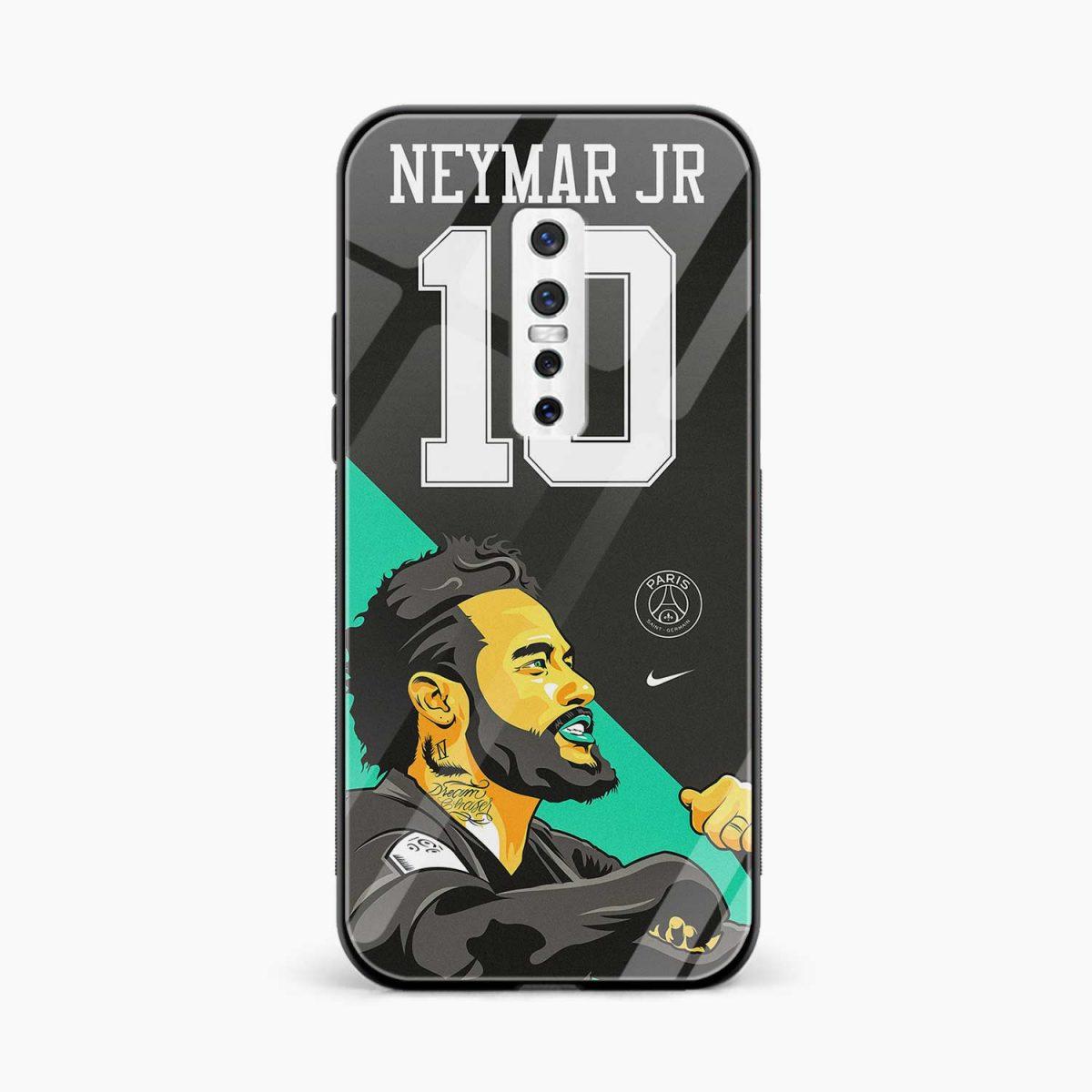 neymar jr 10 front view vivo v17 plug back cover