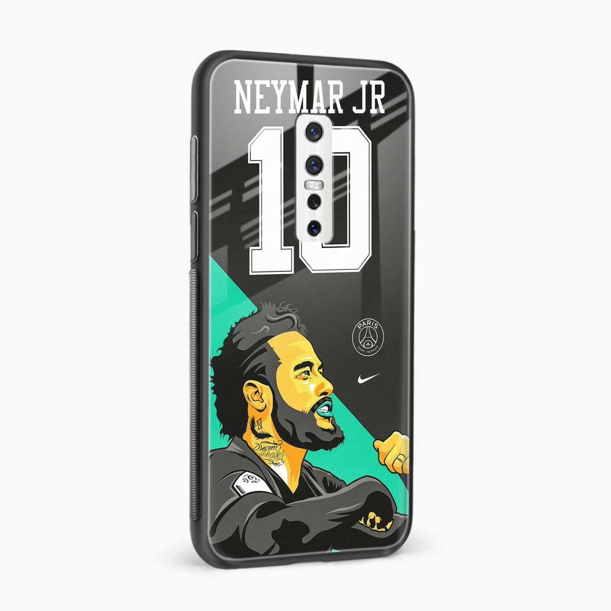 neymar jr 10 side view vivo v17 plug back cover