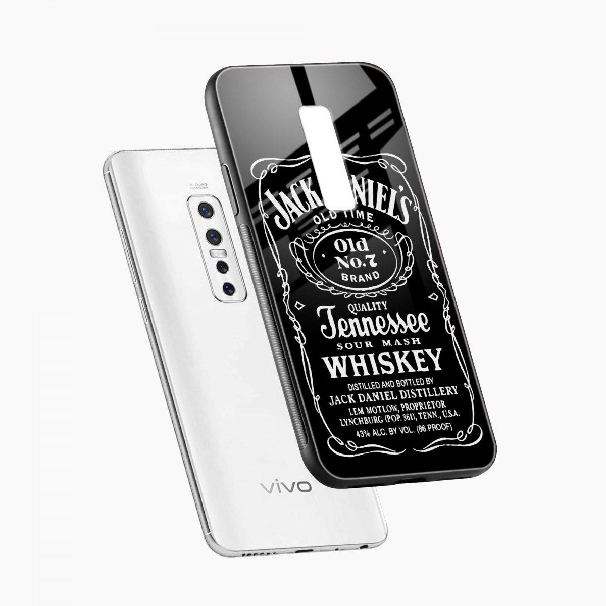 jack daniels whiskey diagonal view vivo v17 plug back cover