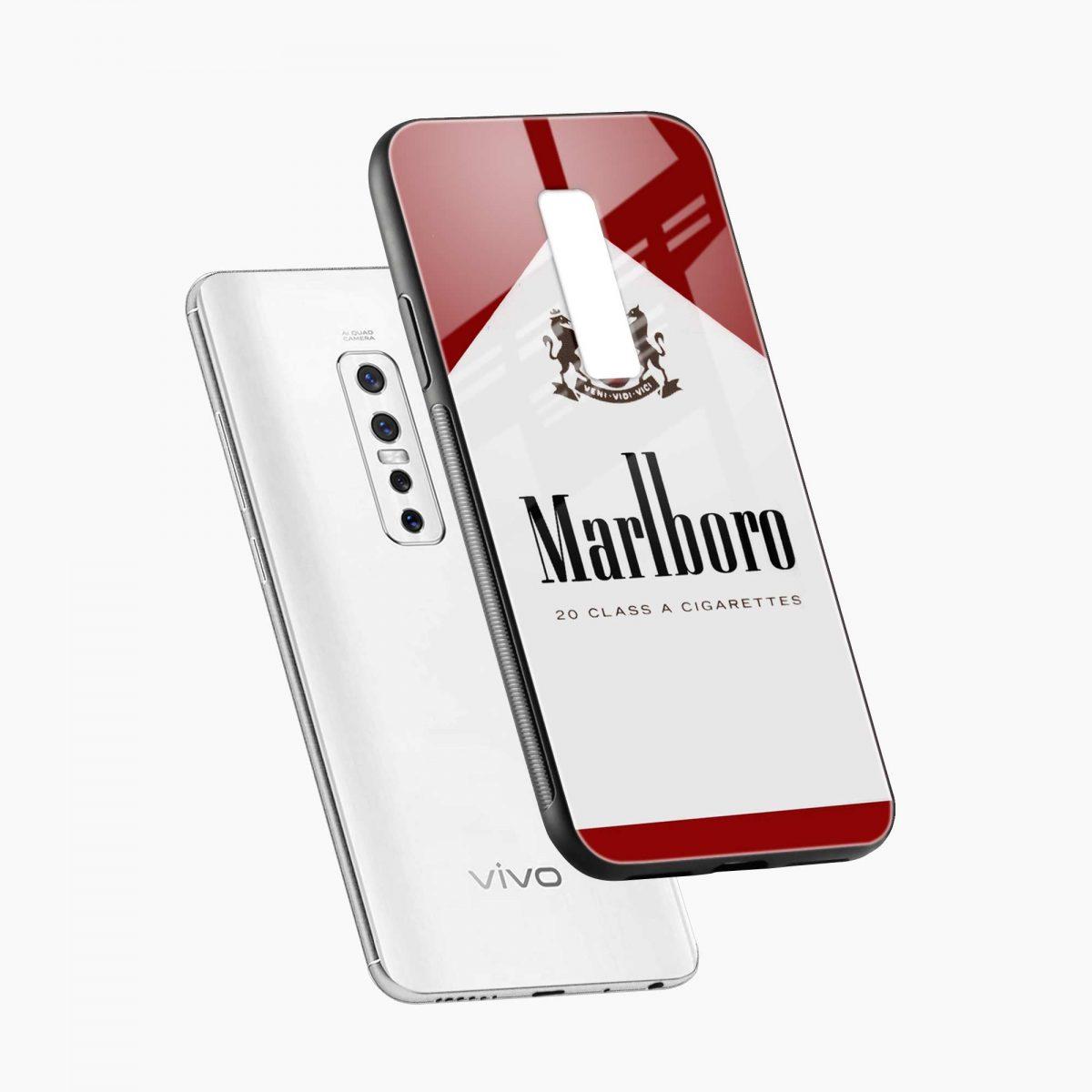 marlbor ciarette box diagonal view vivo v17 plug back cover