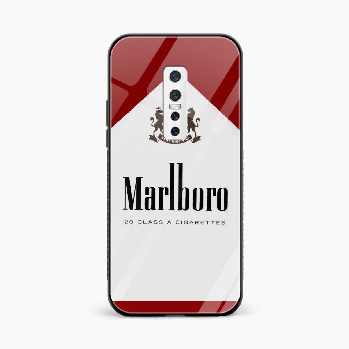 marlbor ciarette box front view vivo v17 plug back cover