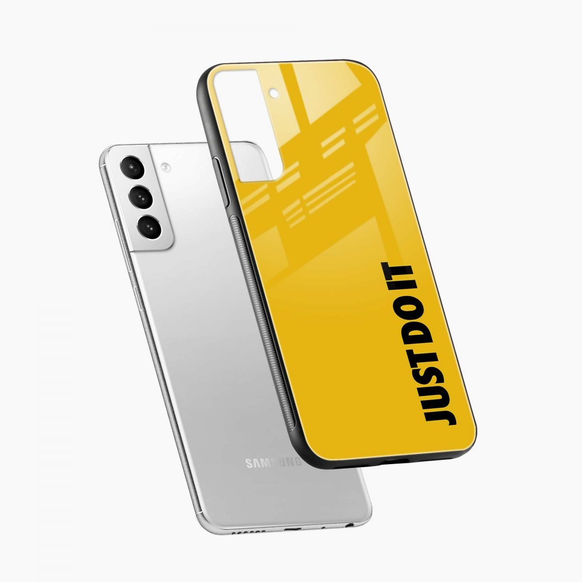 just do it diagonal view samsung s21 plug back cover