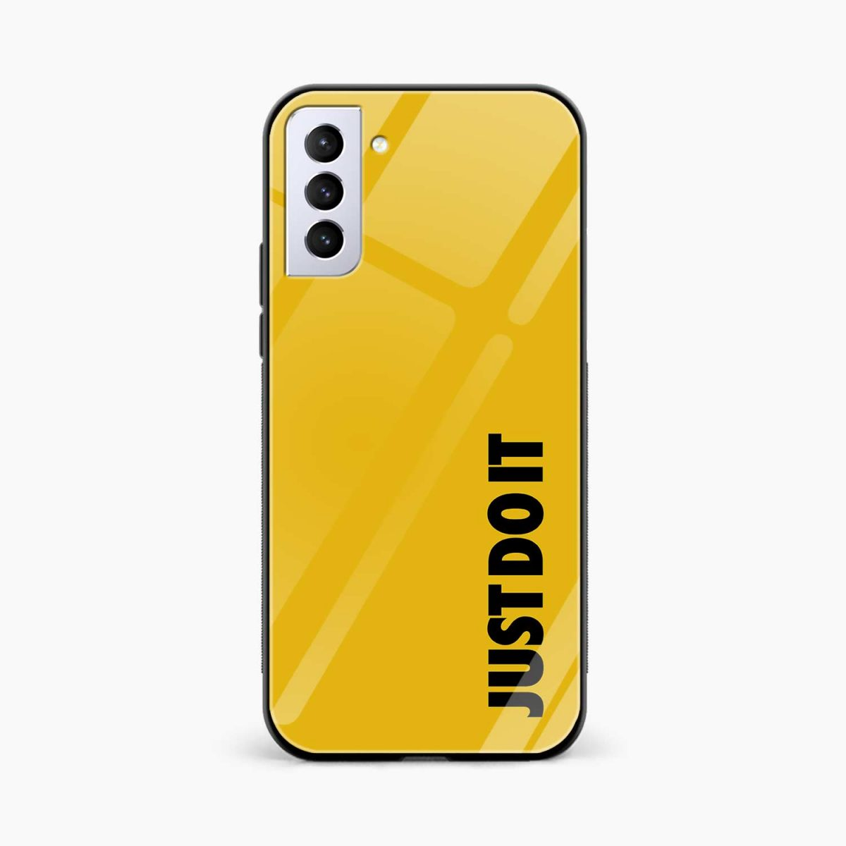 just do it front view samsung s21 plug back cover
