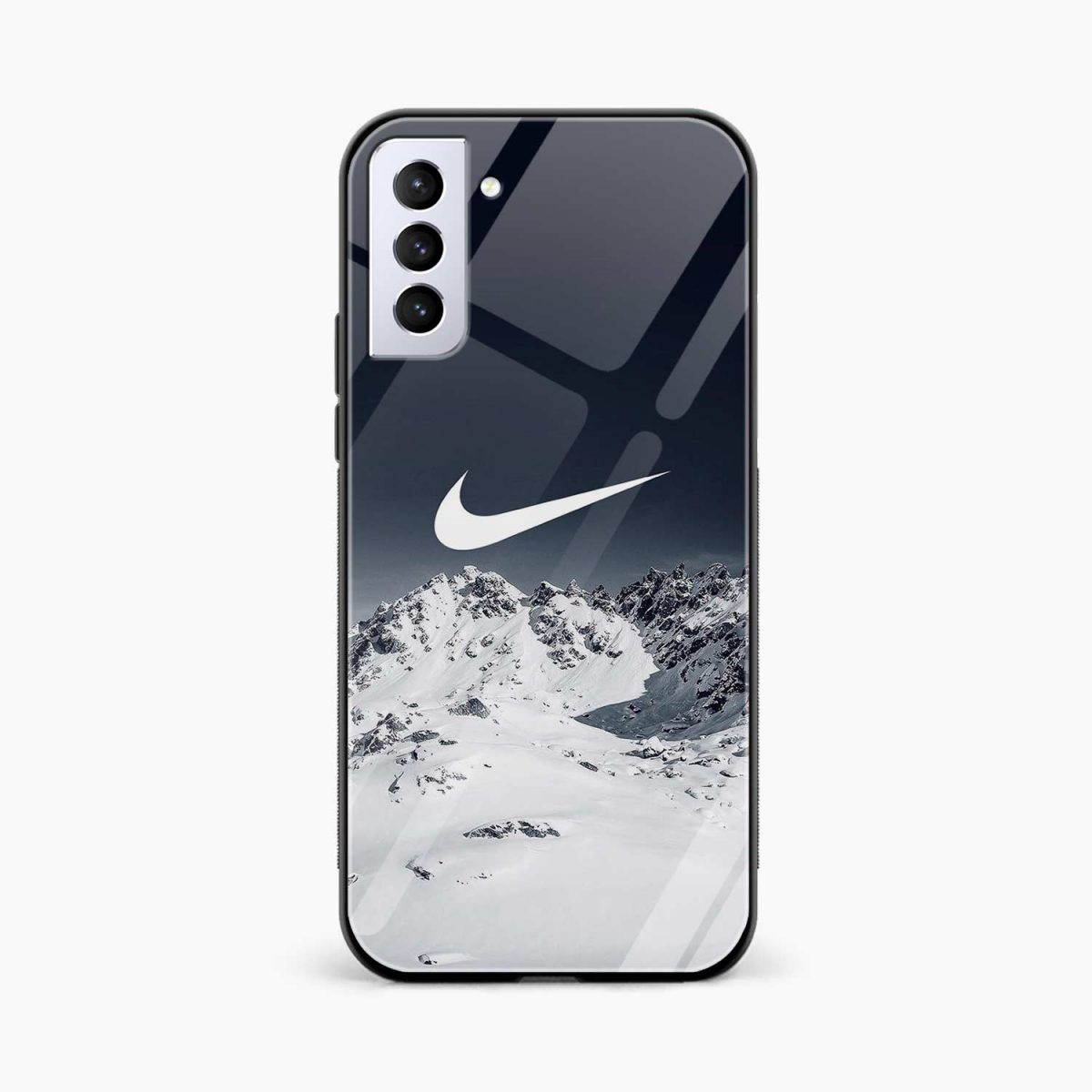 nike mountains front view samsung s21 plug back cover