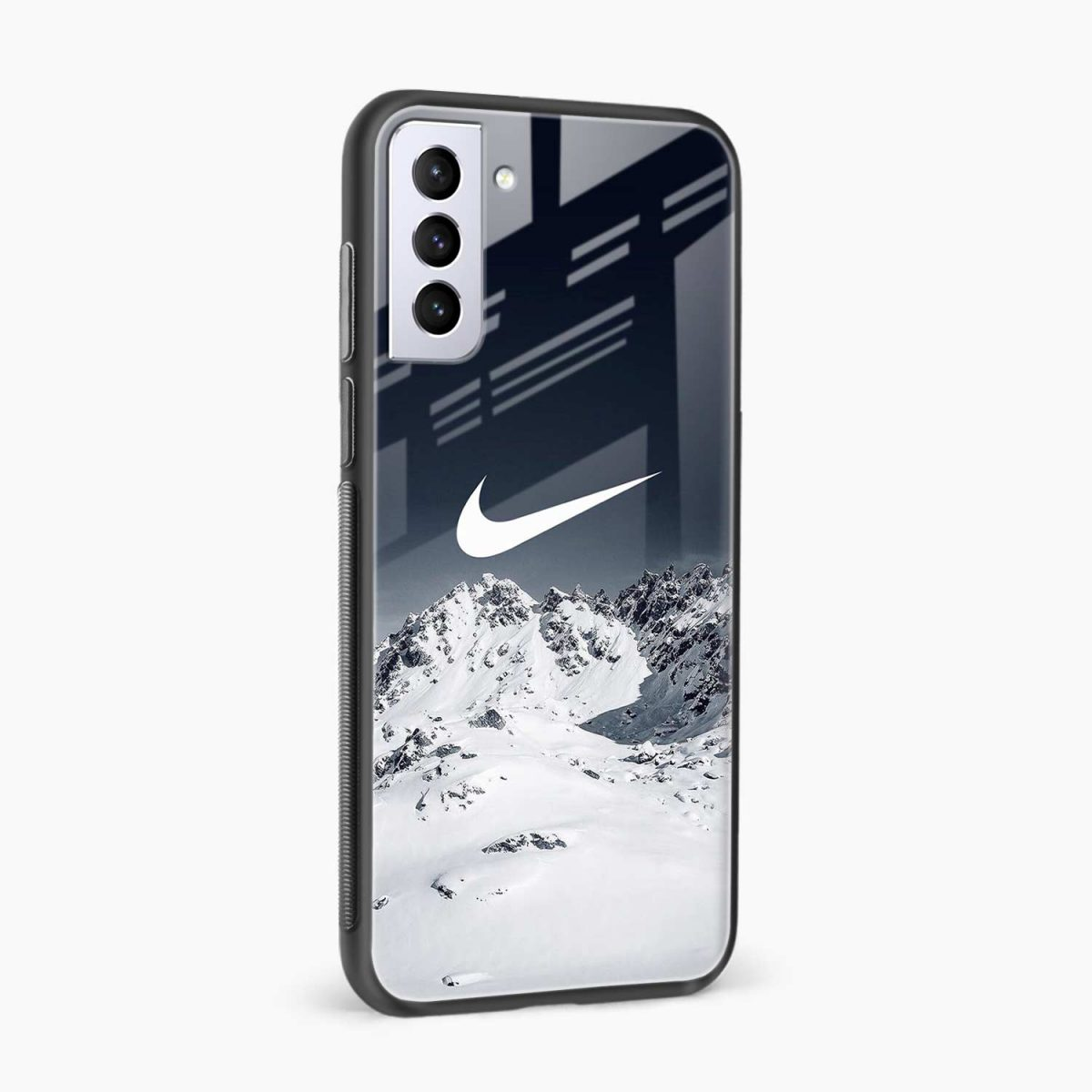 nike mountains side view samsung s21 plug back cover