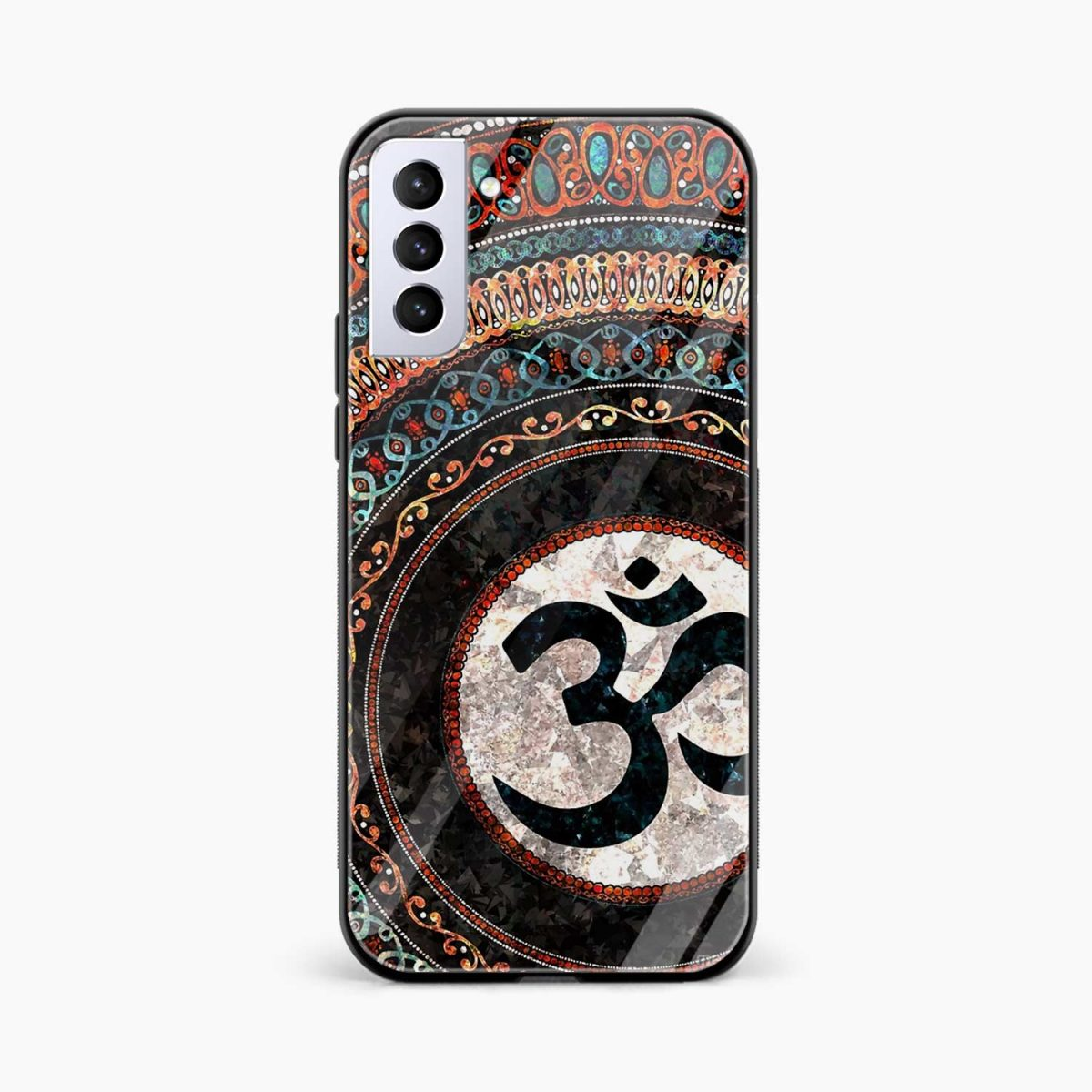 om glass front view samsung s21 plug back cover