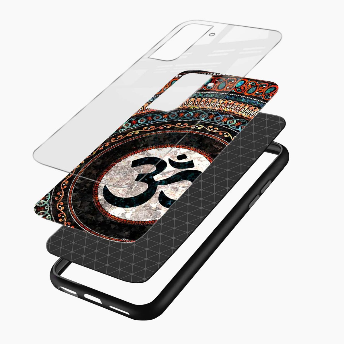 om glass layers view samsung s21 plug back cover