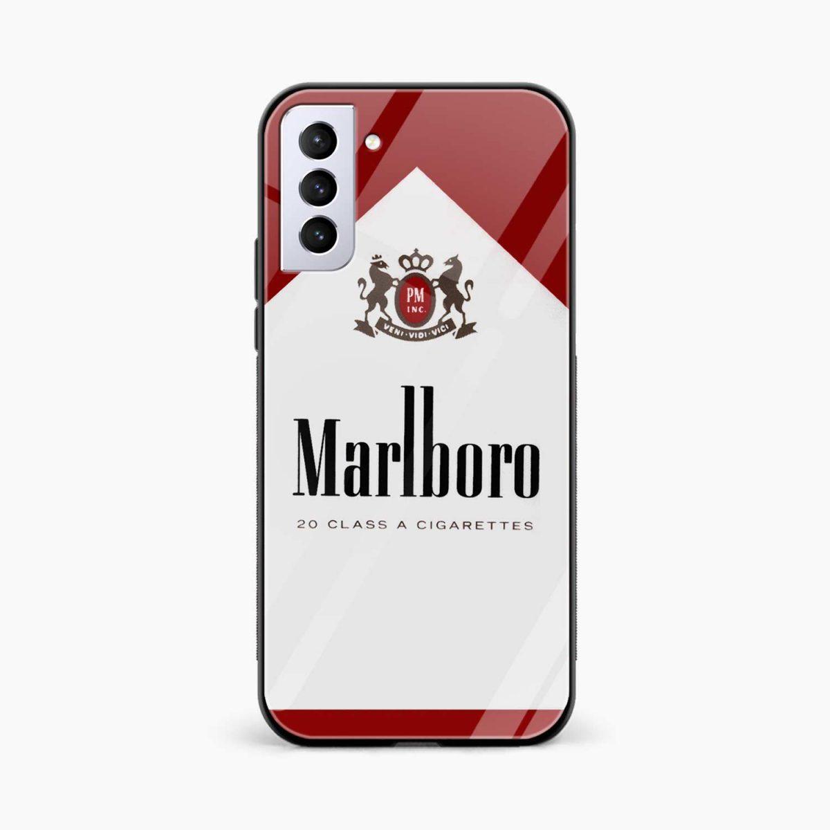 marlboro cigarette box front view samsung s21 plug back cover