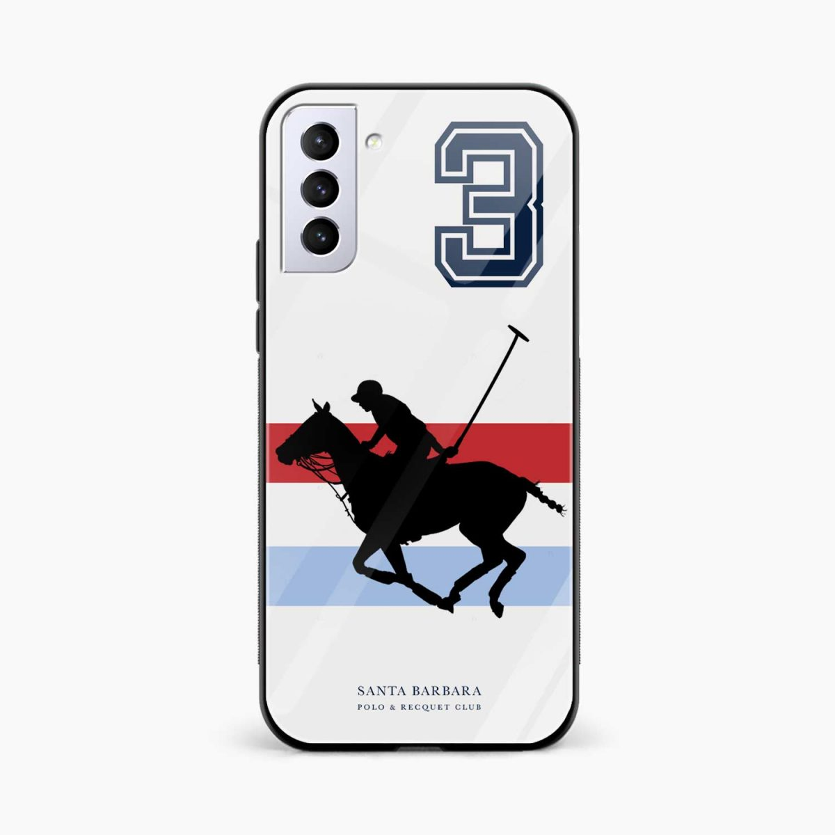 sant barbara polo front view samsung s21 plug back cover