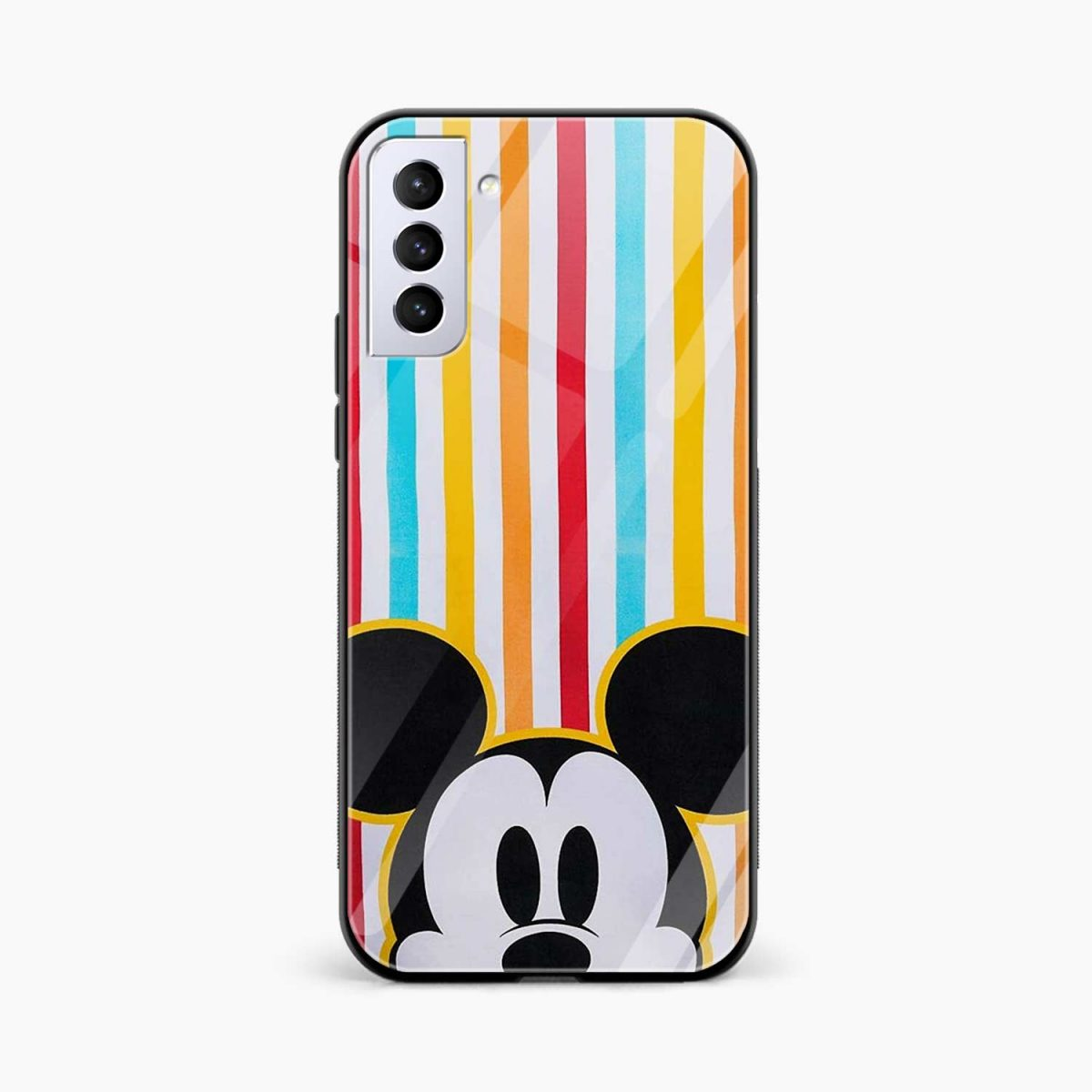 rigid spy mickey mouse front view samsung s21 plug back cover