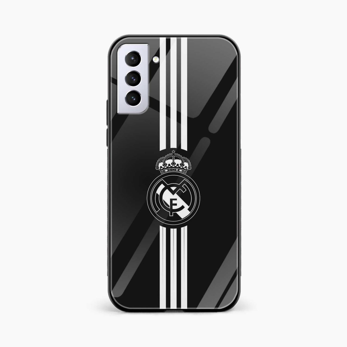 real madrid cf front view samsung s21 plug back cover