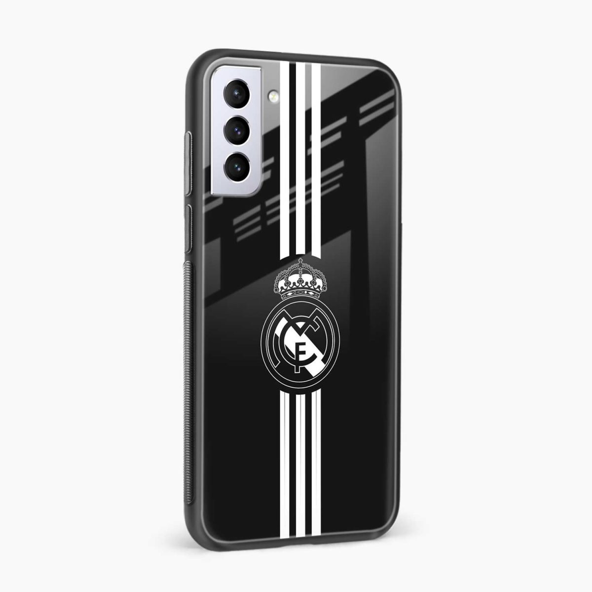 real madrid cf side view samsung s21 plug back cover