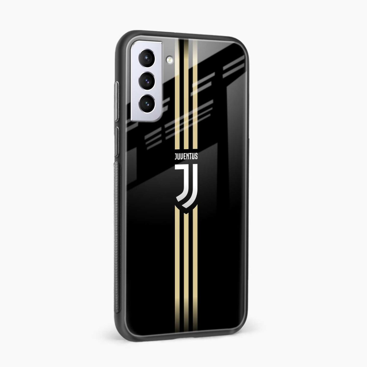 juventus golden strips side view samsung s21 plug back cover